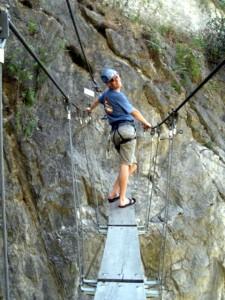Sur le pont népalais