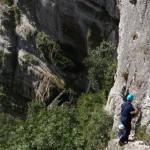 Via ferrata de Crolles, avec une entreprise du Nord Isère