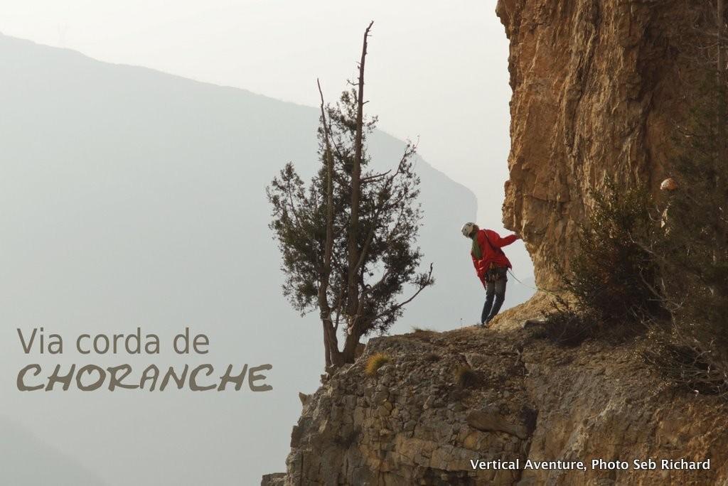 Via corda de Choranche, Massif du Vercors, Presles