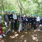 Sommet de la Via ferrata de la cascade de l'Oule