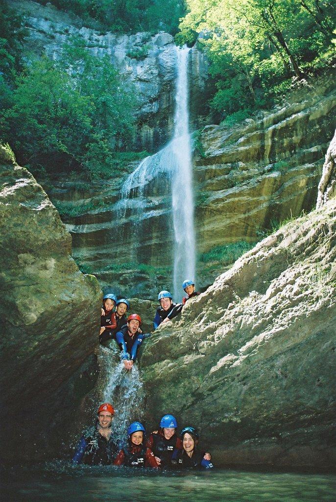 Séminaire et comités d'entreprise en Canyon avec Vertical Aventure