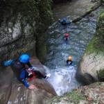 L'aventure en canyoning dans le vercors