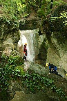 Le canyon du Ternèze, une ambiance merveilleuse à côté du Lac d'Annecy