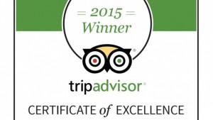 Certificat Excellence 2015 Vertical Aventure