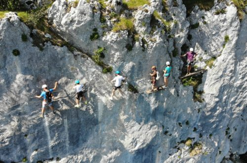 Article : Via ferrata du