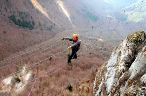 Article : Via ferrata de Jules Carret