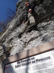 Via ferrata de Saint-Vincent-de-Mercuze