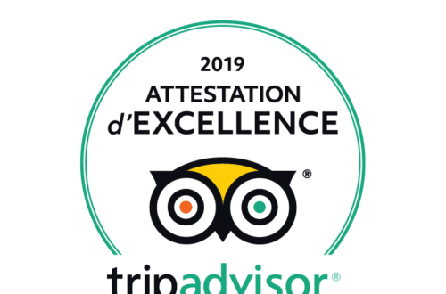 Article : CERTIFICAT D'EXCELLENCE TRIPADVISOR