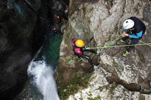 Article : Le Canyon du Furon, avec un gros débit