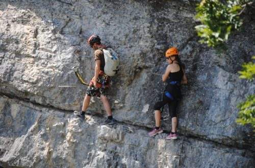 Article : Comment utiliser la longe en Via Ferrata ?