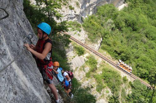 Article : Réouverture annuelle de la via ferrata de Crolles (Via ferrata de la cascade de l'Oule)